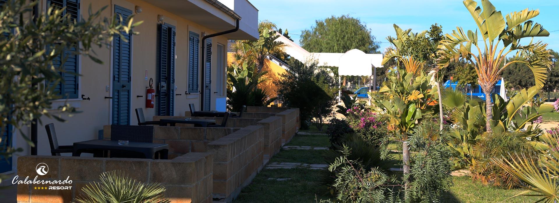 Calabernardo Resort giardino